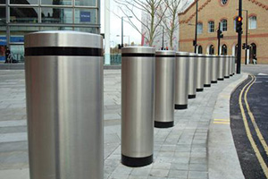 Bollards Enhance Security